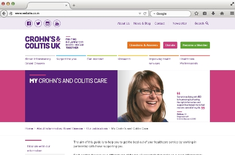 CCUK My Crohn's and Colitis Care